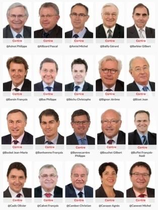 La liste des sénateurs qui ne veulent pas de bio dans les cantines | La Bio en restauration Collective | Scoop.it