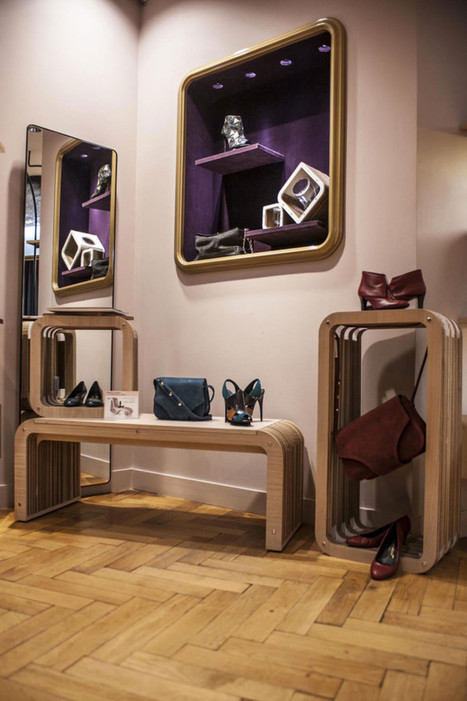 Innovative Cardboard Furniture for Retail Fashion Store   Sustainable Homes   Scoop.it