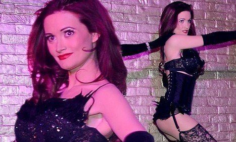 Holly Madison performs racy burlesque show in nothing but lingerie for the ... - Daily Mail | Lingerie | Scoop.it