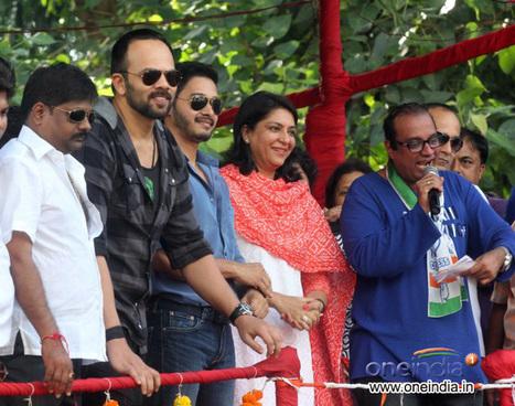 Rohit Shetty with Shreyas Talpade and Priya Dutt | Watch & Download Thor Dark World Movie Online | Scoop.it