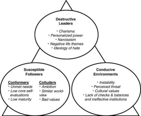 A path to Toxic Leadership: destructive leadership, conducive ... | Dark side of leadership | Scoop.it