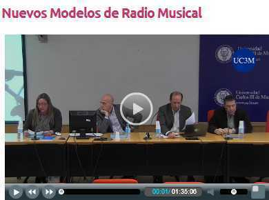 Nuevos Modelos de Radio Musical [video] World Radio Day Madrid @ UC3M | Radio 2.0 (Esp) | Scoop.it