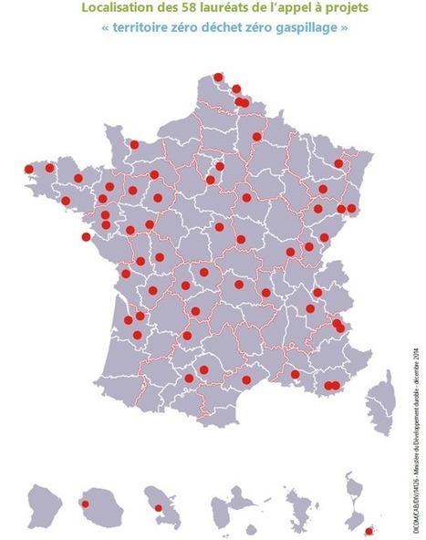 Ségolène Royal dévoile les 58 premiers territoires lauréats de l'appel à projets « zéro déchet, zéro gaspillage » - Ministère du Développement durable | Agriculture Urbaine | Scoop.it