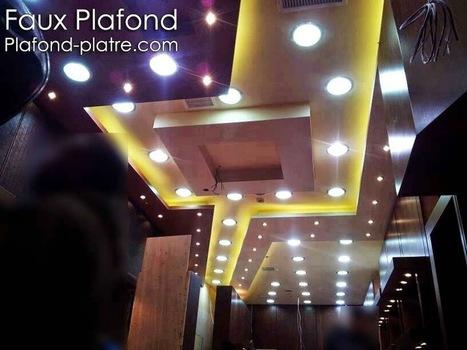Faux Plafond Platre 2014 Décoration et design | Faux plafond en forme d'un papillon | Scoop.it