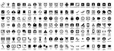 Google Just Released Hundreds of Cool Icons That You Can Use For Free | E learning social media + | Scoop.it