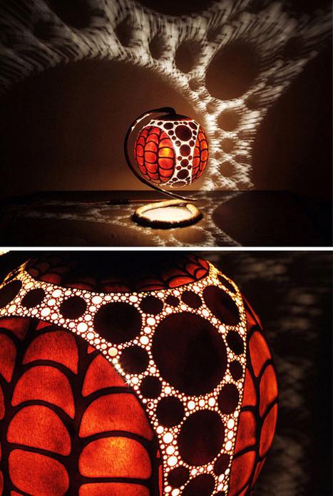 Tropical Lamps Swirl Light & Shadow | Art, Design & Technology | Scoop.it