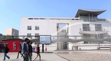 Monoprix créé un arc en ciel artificiel pour dire bye bye à la grisaille | streetmarketing | Scoop.it