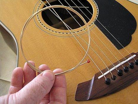 Kĩ năng cơ bản khi thay dây đàn Guitar | Sử dụng máy đo ẩm gỗ trong sản xuất | Scoop.it