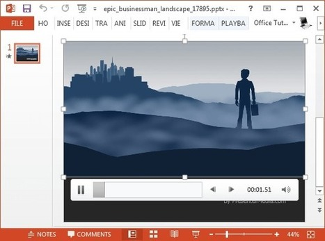 Animated Landscape Video Backgrounds For PowerPoint | PowerPoint Presentation | PowerPoint presentations and PPT templates | Scoop.it
