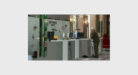 Economies chez BNP Paribas Fortis: 150 agences fermées d'ici 2015 - RTBF Economie | Banking channels | Scoop.it