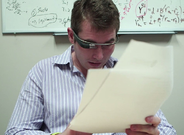 Prof Uses Google Glass To Deliver Feedback on Student Assignments -- Campus Technology | Edtech PK-12 | Scoop.it