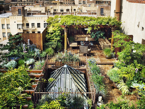 Looking for a Spectacular Secret Garden? Check Out This Manhattan Roof Garden | Urban Design | Scoop.it