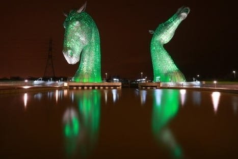 Kelpies among Scots landmarks to go green for climate change   My Scotland   Scoop.it