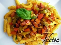 Pennette con Peperoni - Pennette with sweet Peppers | Le Marche and Food | Scoop.it