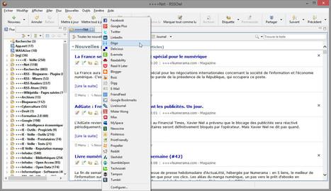RSSOwl 2.2 is out | RSS Circus : veille stratégique, intelligence économique, curation, publication, Web 2.0 | Scoop.it