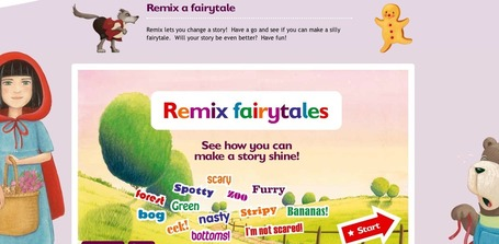Remix a fairytale | Remix a fairytale and create your own story | Ladybird Read it yourself | Narration transmedia et éducation | Scoop.it