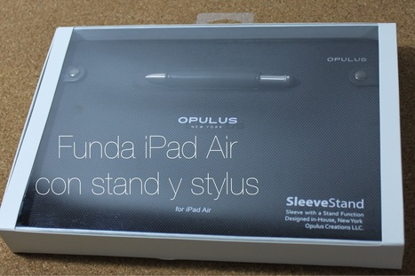 Sleeve Stand for iPad Air by Opulus New York (Review) | Accesorios iPhone y iPad por Jaimezebus | Scoop.it
