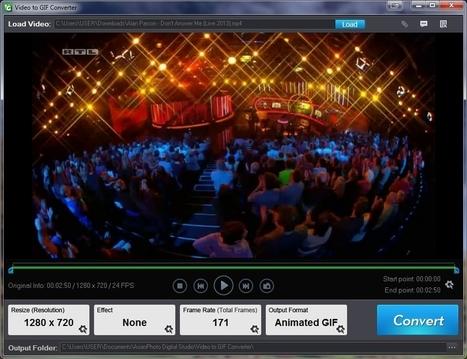 Aoao Video to GIF Converter - logiciel de conversion de vidéo en gif animé | Chroniques libelluliennes | Scoop.it