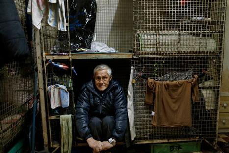 Pobres que viven en jaulas al lado de grandes mansiones: caras de la creciente desigualdad | Cosas que interesan...a cualquier edad. | Scoop.it