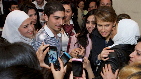 No retreat: Asma Assad, wife of Syrian President, appears in public — RT News   Global politics   Scoop.it