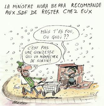 Nora Berra recommande aux SDF de rester chez eux | ParisBilt | Scoop.it