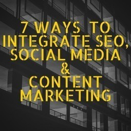 7 Ways Small Businesses Can Integrate SEO, Social Media & Content Marketing http://huxo.co.uk/7-ways-small-businesses-can-integrate-seo-social-media-content-marketing/ #SocialMedia #Marketing | Social Media Marketing | Scoop.it