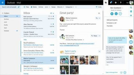 Microsoft : découvrez en vidéo le tout nouvel Outlook 2016 | gestion temps, outlook, lotus notes | Scoop.it