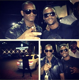 Welcome to William Adoki's blog.......its all about entertainment!!!!!: Iyanya enjoying the evening with R.kelly | williamadoki.blogspot.com | Scoop.it