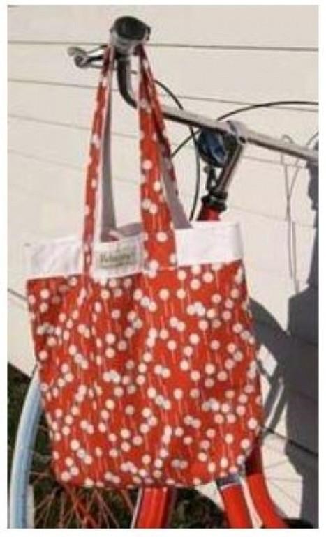 How to Make a Purse: Inside Out Tote Bag   HandMade 4All   handmade4all.com   Scoop.it