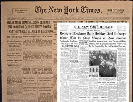 Hace 80 años Hitler ascendía al poder en Alemania. Así lo contaban los periódicos | La R-Evolución de ARMAK | Scoop.it