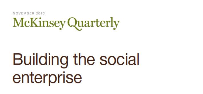 Building the Social Enterprise | Collaboration | Scoop.it