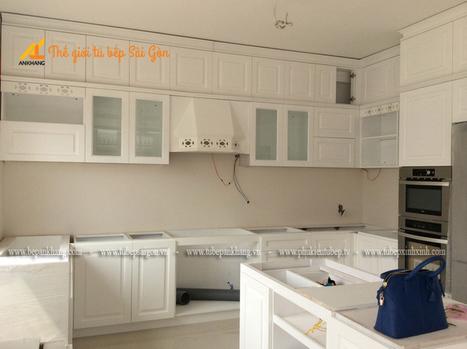 Dự án tủ bếp chị BÌNH - quận 7. | Tủ bếp, Bếp An Khang tạo dấu ấn cho ngôi nhà VIỆT 0839798355 | Scoop.it