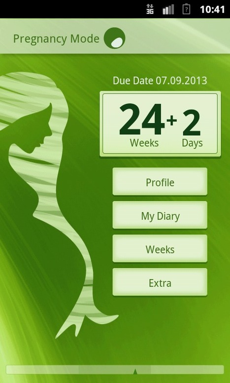 Pregnancy Mode is a new pregnancy tracker app | New android pregnancy app | Scoop.it