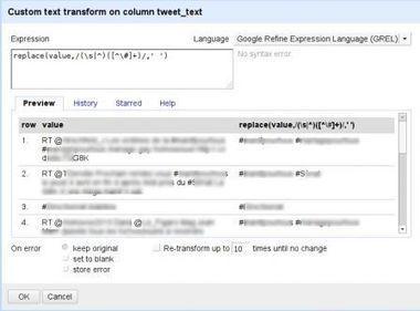 Préparer un corpus de tweets avec open/google Refine pour le visualiser dans Gephi - sociographie.net | e-Xploration | Scoop.it