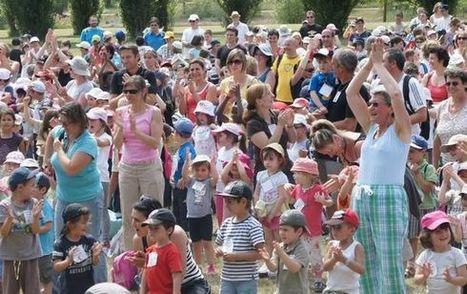 Nouvelle République : 850 écoliers pour '' Asavie '' au lac - solidarité   ChâtelleraultActu   Scoop.it