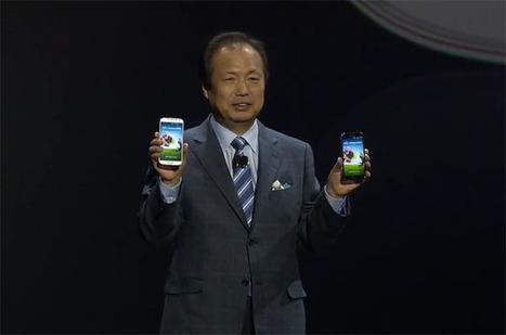 Samsung dévoile officiellement son Galaxy S4 | J'aime le matos informatique et tout ce qui tourne autour ... | Scoop.it