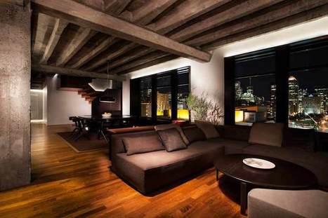 Penthouse A : ALAIN CARLE ARCHITECTE | Architecture et Ingénierie bois | Scoop.it
