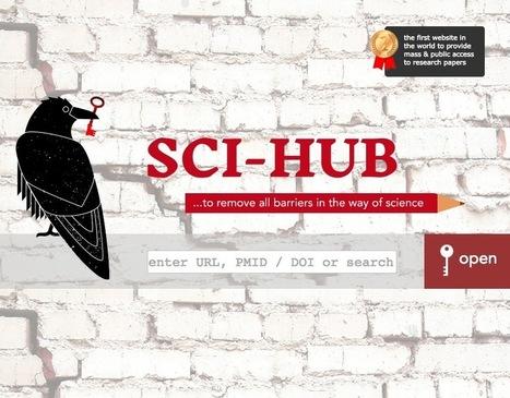 Elsevier et Sci-Hub : une guerre des tranchées autour du savoir | François MAGNAN  Formateur Consultant | Scoop.it