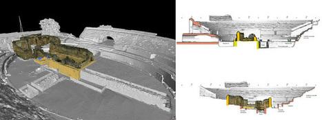 Reconstrucción digital del Anfiteatro romano de Tarraco (Hispania Tarraconensis) mediante escáner láser. Bases para el estudio analítico y estructural | Arqueología romana en Hispania | Scoop.it