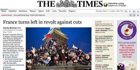 Pour la presse étrangère, la France change de cap, l'Europe aussi | Union Européenne, une construction dans la tourmente | Scoop.it