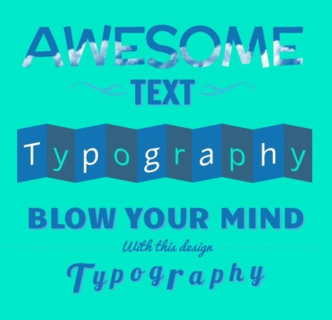 Typography Designs Using CSS3 and Lettering.js • 1stwebdesigner | HTML5 intro and tips | Scoop.it