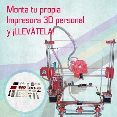 Monta tu propia impresora 3D y ¡llévatela a casa! | Ultra-lab | Open Source Hardware, Fabricación digital, DIY y DIWO | Scoop.it