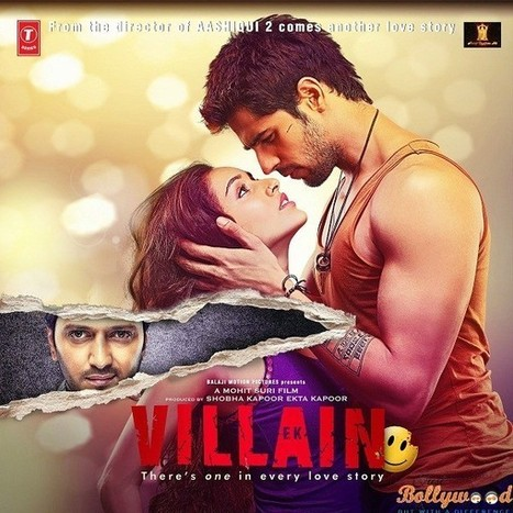 Ek Villain Review : Must Watch it only for Sidharth and Riteish   justbollywood   Scoop.it