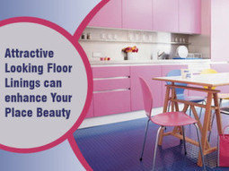 Attractive Looking Floor Linings can enhance Your Place Beauty | Rubber Flooring | Scoop.it