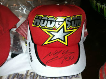 Neil Hodgson Parts Unlimited Ducati AMA Superbike autographed trucker hat - proceeds for cancer benefit | Ductalk Ducati News | Scoop.it