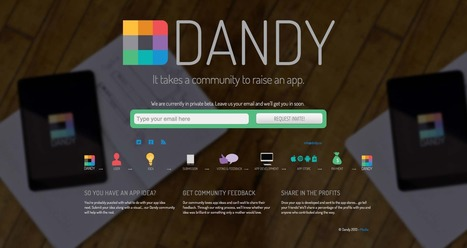 Dandy Selected as Daily Feature | BETA LI.ST | Dandy Media Coverage | Scoop.it