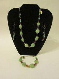 Noneillah's Handmade  Semi Precious Stones Glass Necklace | Jewelry and More... | Scoop.it