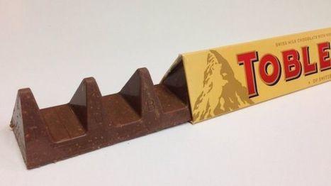 Toblerone triangle change upsets fans - BBC News | Business Studies | Scoop.it