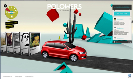 Volkswagen organise la première course de Polowers sur Twitter  |  Wonderful Brands | Commerce digital | Scoop.it