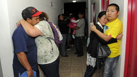 Tense Hours, Then Sighs Of Relief After Huge Quake Off Chile - WBUR | AP HUG (Human Geography | Scoop.it